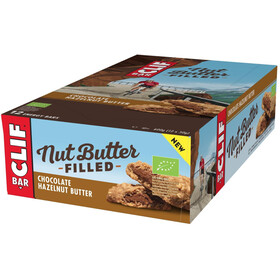 CLIF Bar Nut Butter Energy Bar Box 12 x 50g, Chocolate Hazelnut